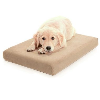 Premium Orthopedic Memory Foam Dog Bed by Milliard