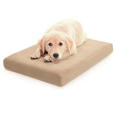 Premium Orthopedic Memory Foam Dog Bed by Milliard