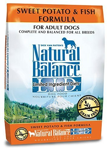 Sweet Potato & Fish Formula Limited Ingredient Diets Dry Dog Food by Natural Balance