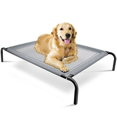 Steel Framed Portable Elevated Pet Bed by OxGord