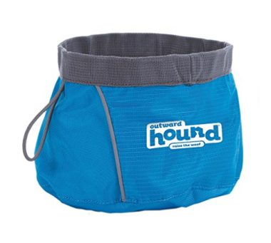Port-A-Bowl Collapsible Travel Dog Food and Water Bowl by Outward Hound