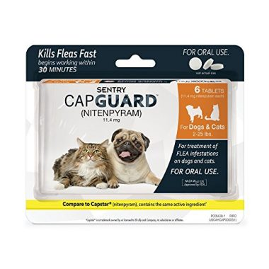 Capguard Oral Flea Control Medication by Sentry Pet Care