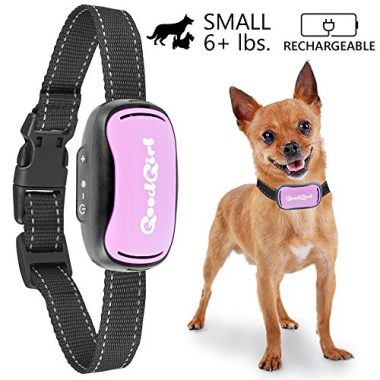 Small Rechargeable Dog Bark Collar by GoodBoy