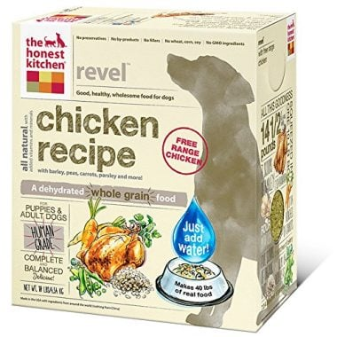 Human Grade Dehydrated Organic Grain Dog Food by The Honest Kitchen