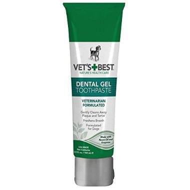 Enzymatic Dental Gel Toothpaste for Dogs by Vet's Best