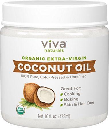 Organic Extra Virgin Coconut Oil by Viva Naturals