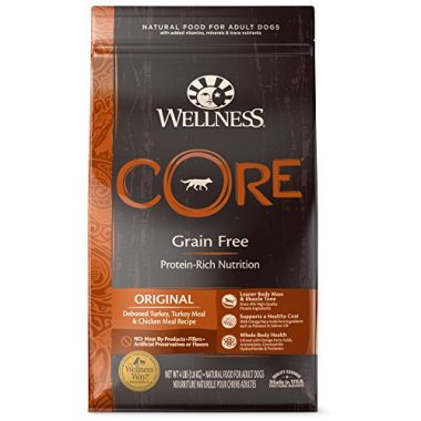 Natural Grain Free Dry Dog Food by Wellness CORE