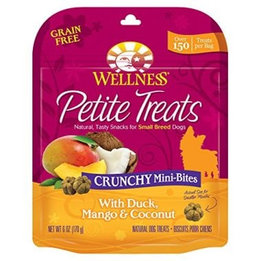 Petite Treats Grain Free Crunchy Mini-Bites by Wellness Natural Pet Food