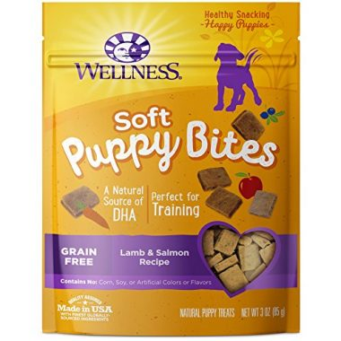 Puppy Bites Natural Grain Free Puppy Training Treats by Wellness Natural Pet Food