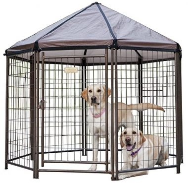Pet Gazebo Modular Outdoor Dog Kennel by Advantek