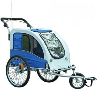 Elite II Pet Dog Bike Trailer by Aosom