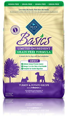 BLUE Basics Limited Ingredient Formula Adult Dry Dog Food by Blue Buffalo