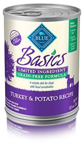 BLUE Basics Limited Ingredient Grain Free Formula Wet Dog Food by Blue Buffalo