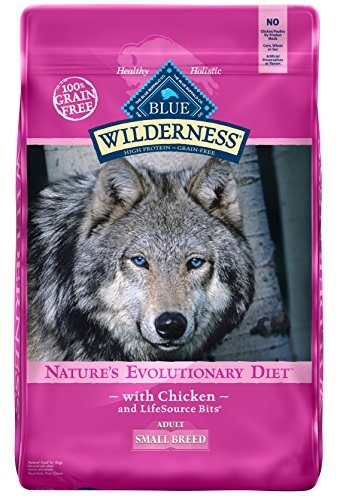 Natural Grain Free Small Breed Dry Dog Food by Wellness CORE