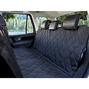 Luxury Pet Car Seat Cover with Seat Anchors by BarksBar