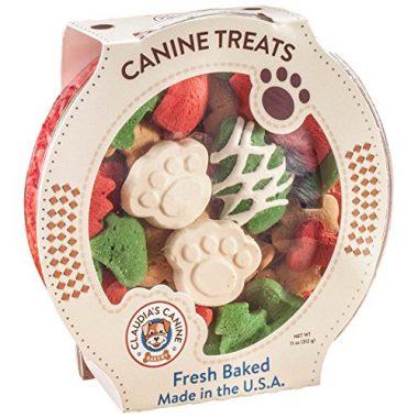 Claudia's Canine Cuisine – Santa Paws Classic Gourmet Dog Cookies