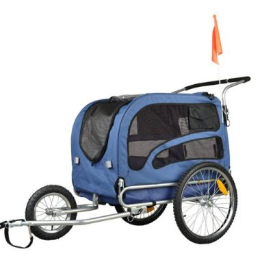 Doggyhut Large Pet Bike Trailer by Veelar