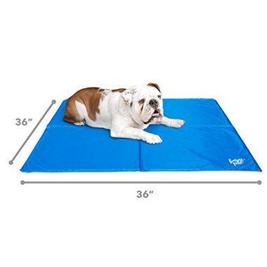 Dog Cooling Pad with Self Cooling Technology by FrontPet