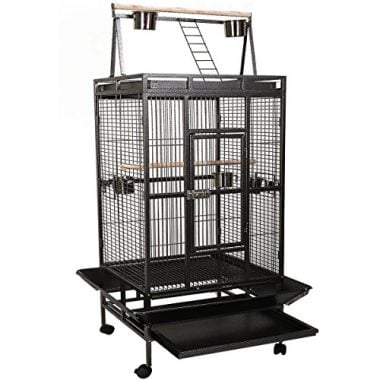 Bird Cage with Play Top by Giantex
