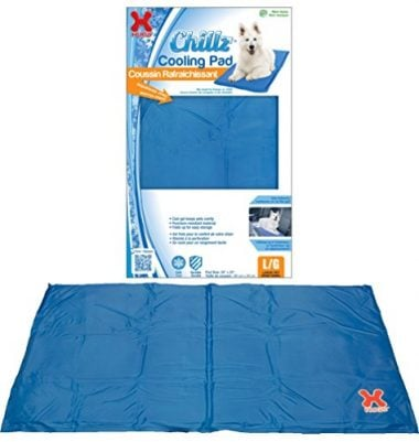 Chillz Pad Comfort Cooling Gel Pet Pad by Hugs Pet Products