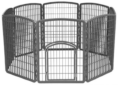 Exercise Panel Pet Playpen with Door by IRIS USA, Inc.