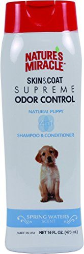 Supreme Odor Control Puppy Shampoo by Nature's Miracle