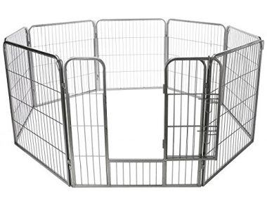 Pet Exercise Pen Tube Gate Metal Hammigrid Wire Folding Pen by OxGord