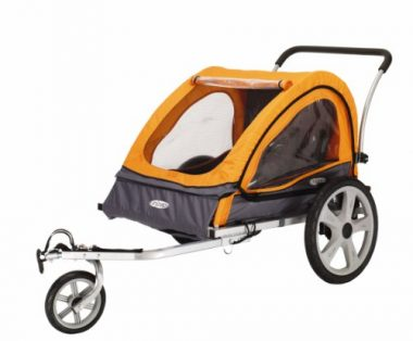 InStep Quick N EZ Double Bicycle Trailer by Pacific Cycle