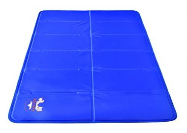 Pet Dog Self Cooling Mat Pad for Kennels, Crates, and Beds by Arf Pets
