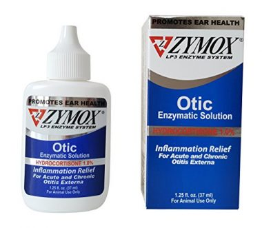 Zymox Otic Pet Ear Treatment with Hydrocortisone by Pet King Brand