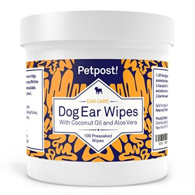 Dog Ear Cleaner Wipes by Petpost