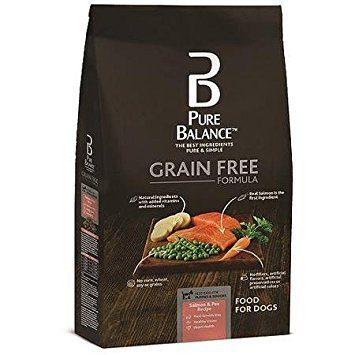 Grain Free Formula Salmon & Pea Recipe Food for Dogs