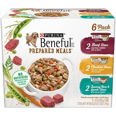 Beneful Prepared Meals Stew Variety Pack Wet Dog Food by Purina