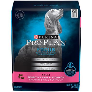 Pro Plan Focus Sensitive Skin and Stomach Salmon and Rice Formula Dry Dog Food by Purina