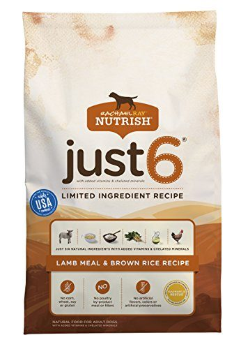 Just 6 Limited Ingredient Recipe Natural Dry Dog Food by Rachael Ray Nutrish