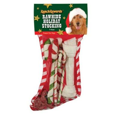 Rawhide Holiday Dog Stocking by Ranch Rewards