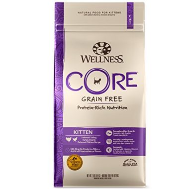 CORE Natural Grain Free Kitten Formula Dry Cat Food by Wellness Natural Pet Food