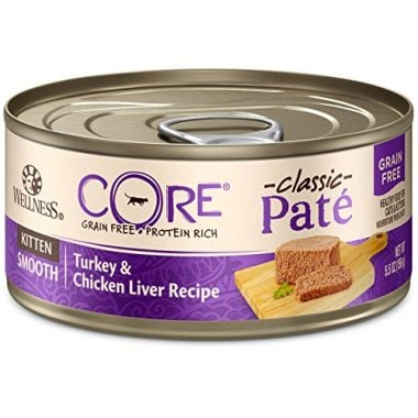 CORE Natural Grain Free Turkey & Chicken Liver Pate Canned Kitten Food by Wellness Natural Pet Food