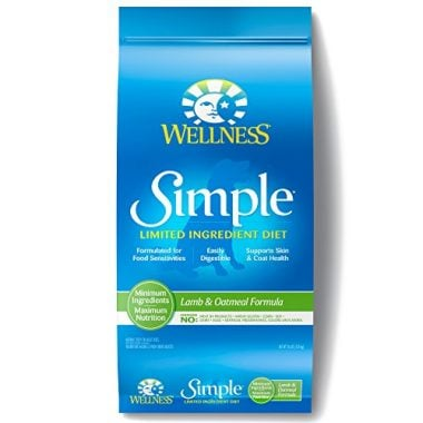 Wellness Simple Natural Dry Limited Ingredient Dog Food