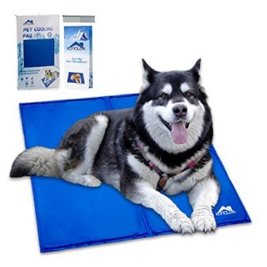 Cooling Mat Pressure Activated Chilly Dog Bed Gel Mat by Whalek