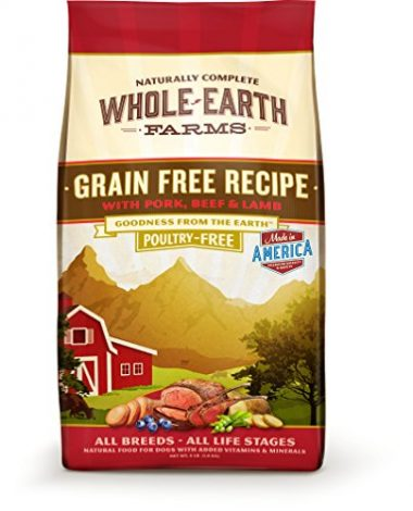 Whole Earth Farms Grain Free Recipe Dry Dog Food by Merrick