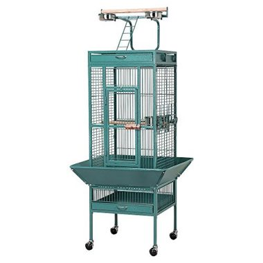Pet Bird Cage with Play Top by Yaheetech