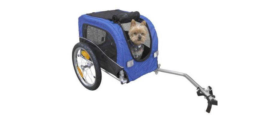 what is a dog bike trailer
