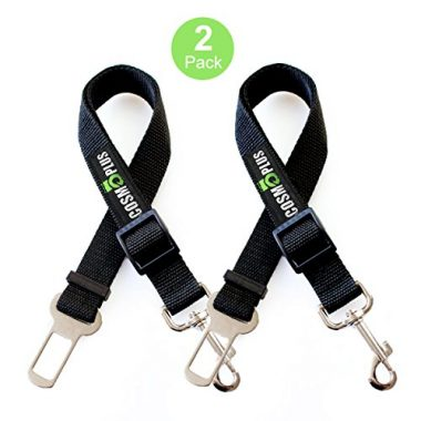 Safety Car Seat Belts for Dogs by Cosmoplus