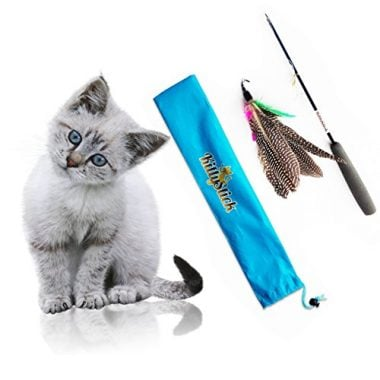 Pets Feather KittyStick Cat Toy