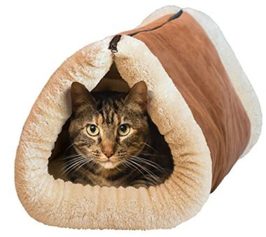 2-in-1 Tube Cat Mat and Bed by Kitty Shack