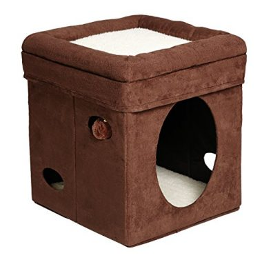 Curious Cat Cube Cat House/Condo by MidWest