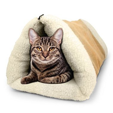 PET PALACE 2-in-1 Pet Bed Snooze Tunnel
