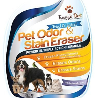 Powerful Pet Odor Eliminator & Urine Remover by Emmy's Best