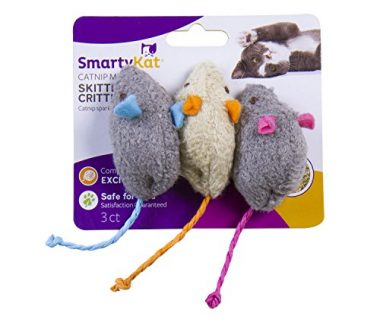 Skitter Critters Cat Toys Catnip Mice by SmartyKat